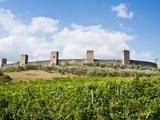 Monteriggioni, Siena Province, Tuscany, Italy, Europe Photographic Print by Nico Tondini