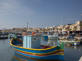 Fishing Boats, Marsaxlokk, Malta, Mediterranean, Europe Photographic Print by Nick Servian