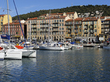 Port Lympia in the Quartier Du Port, Nice, Alpes Maritimes, Provence, Cote D'Azur, French Riviera,  Photographic Print by Peter Richardson