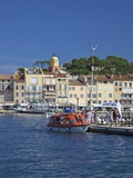 Harbour at St. Tropez, Var, Provence, Cote D'Azur, France, Mediterranean, Europe Photographic Print by Peter Barritt