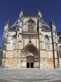 The Gothic-Manueline Style Batalha Abbey (Mosteiro De Santa Maria Da Vitoria), UNESCO World Heritag Photographic Print by Stuart Forster