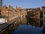 Canal Area, Birmingham, Midlands, England, United Kingdom, Europe Fotografie-Druck von Charles Bowman