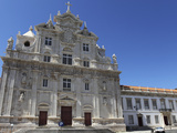 New Cathedral (Se Nova), Formerly a Jesuit College, with Mannerist Lower and Baroque Facade, Coimbr Photographic Print by Stuart Forster