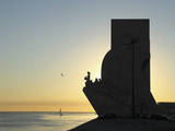 Sundown at the Monument to the Discoveries (Padrao Dos Descobrimentos) by the River Tagus (Rio Tejo Photographic Print by Stuart Forster