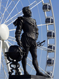 Statue of Sir Francis Drake, Plymouth Hoe, Plymouth, Devon, England, United Kingdom, Europe Photographic Print by Jeremy Lightfoot
