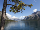 Lake Minnewanka, Banff National Park, UNESCO World Heritage Site, Alberta, Rocky Mountains, Canada, Photographic Print by Martin Child