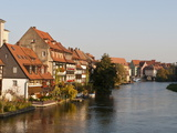 Little Venice (Klein Venedig) and River Regnitz, Bamberg, UNESCO World Heritage Site, Bavaria, Germ Photographic Print by Michael DeFreitas