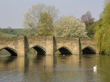 Bakewell Bridge and River Wye, Derbyshire, England, United Kingdom, Europe Photographic Print by Rolf Richardson