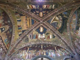 Ceiling Frescoes by Andrea Di Bonaiuto, Spanish Chapel, Santa Maria Novella, Florence, UNESCO World Photographic Print by Peter Barritt