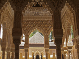 Alhambra, UNESCO World Heritage Site, Granada, Andalusia, Spain, Europe Photographic Print by Hans-Peter Merten