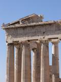 The Parthenon on the Acropolis, UNESCO World Heritage Site, Athens, Greece, Europe Photographic Print by Martin Child