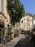 Al Fresco Restaurants, Place Forum Des Cardeurs, Aix-En-Provence, Bouches-Du-Rhone, Provence, Franc Photographic Print by Peter Richardson