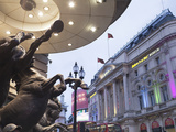 Piccadilly Circus, London, England, United Kingdom, Europe Photographic Print by Marco Simoni