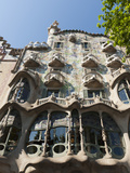 Casa Batllo by Antoni Gaudi, UNESCO World Heritage Site, Passeig De Gracia, Barcelona, Spain, Europ Photographic Print by Sergio Pitamitz