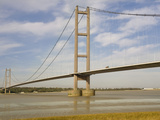 Humber Bridge, Humberside, England, United Kingdom, Europe Photographic Print by Rolf Richardson