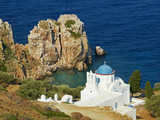 Panagia Poulati, Monastery, Sifnos, Cyclades Islands, Greek Islands, Aegean Sea, Greece, Europe Photographie par  Tuul
