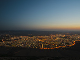 Sulaymaniyah at Night, Iraq, Middle East Photographic Print by Mark Chivers