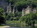 Chateau De La Malartrie, on the River Dordogne, La Roque-Gageac, Dordogne, France, Europe Photographic Print by Peter Richardson