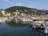 Harbour, Port De Soller, Mallorca (Majorca), Balearic Islands, Spain, Mediterranean, Europe Photographic Print by Stuart Black
