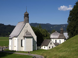 Loretto Chapels, Oberstdorf, Allgau, Bavaria, Germany, Europe Photographic Print by Hans-Peter Merten