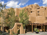 Loretto Inn in Santa Fe, New Mexico, United States of America, North America Fotografie-Druck von Richard Cummins