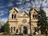 The Cathedral Basilica of St. Francis of Assisi, Santa Fe, New Mexico, United States of America, No Photographic Print by Richard Maschmeyer