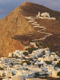 Panagia Kimissis Monastery, Kastro, the Chora Village, Folegandros, Cyclades Islands, Greek Islands Photographic Print by  Tuul