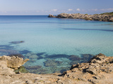 View across the Turquoise Waters of Cala Molto to Punta Des Gullo, Cala Rajada, Mallorca, Balearic  Photographic Print by Ruth Tomlinson