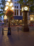 The Steam Clock, Water Street, Gastown, Vancouver, British Columbia, Canada, North America Photographie par Martin Child