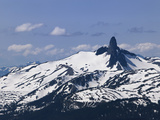 Black Tusk Mountain, Whistler, British Columbia, Canada, North America Photographic Print by Martin Child