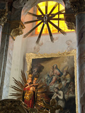 Our Miraculous Lady of Geras, Madonna Above Altar of Baroque Parish Church, Geras Premonstrian Abbe Photographic Print by Richard Nebesky