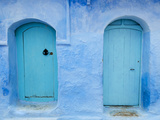 Chefchaouen (Chaouen), Tangeri-Tetouan Region, Rif Mountains, Morocco, North Africa, Africa Photographic Print by Nico Tondini