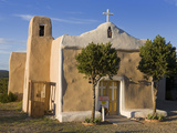 San Francisco De Asis Church Dating from 1835, Golden, New Mexico, United States of America, North  Photographic Print by Richard Cummins