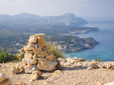 View Westwards from the Talaia De Son Jaumell, a Watchtower Above Cala Agulla, Cala Rajada, Mallorc Photographic Print by Ruth Tomlinson