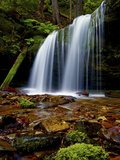Fern Falls, Coeur D'Alene National Forest, Idaho Panhandle National Forests, Idaho, United States o Photographic Print by James Hager