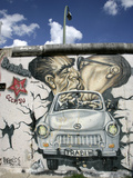 East Side Gallery, Berlin Wall Museum, Berlin, Germany, Europe Photographic Print by Hans-Peter Merten
