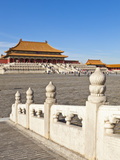 Hall of Supreme Harmony, Outer Court, Forbidden City, Beijing, China, Asia Fotografisk tryk af Neale Clark