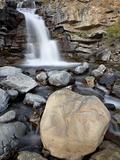 Tangle Falls  Jasper National Park  UNESCO World Heritage Site  Alberta  Canada  North America