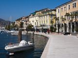 Lungolago Zanardelli, Salo, Lake Garda, Lombardy, Italian Lakes, Italy, Europe Photographic Print by Sergio Pitamitz