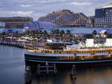 South Steyne Ferry and Harbourside in Darling Harbour, Central Business District, Sydney, New South Photographic Print by Richard Cummins