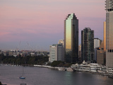 Brisbane River and City Centre, Brisbane, Queensland, Australia, Pacific Photographic Print by Nick Servian