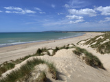 Camber Sands and Sand Dunes, Camber, East Sussex, England, United Kingdom, Europe Photographic Print by Stuart Black