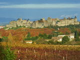 Medieval City of Carcassonne, UNESCO World Heritage Site, Aude, Languedoc-Roussillon, France, Europ Photographie par  Tuul