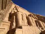Temple of Abu Simbel, UNESCO World Heritage Site, Lake Nasser, Egypt, North Africa, Africa Photographic Print by Hans-Peter Merten