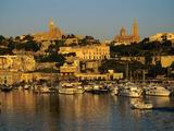Mgarr Harbour, Gozo, Malta, Mediterranean, Europe Fotografisk tryk af Stuart Black