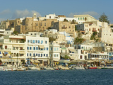 The Chora (Hora), Naxos, Cyclades Islands, Greek Islands, Aegean Sea, Greece, Europe Photographic Print by  Tuul