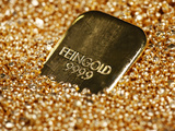 Gold Ingot, Frankfurt, Germany, Europe Photographic Print by Hans-Peter Merten