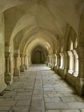 Cloisters, Fontenay Abbey, UNESCO World Heritage Site, Burgundy, France, Europe Photographie par Rolf Richardson