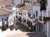 White Village of Mijas Near Torremolinos, Andalusia, Spain, Europe Photographic Print by Hans-Peter Merten