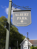 Albert Park in Auckland, North Island, New Zealand, Pacific Photographic Print by Richard Cummins